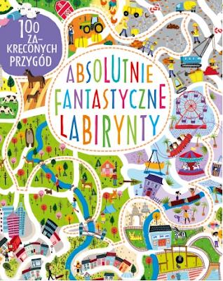 labirynty dla dzieci książka