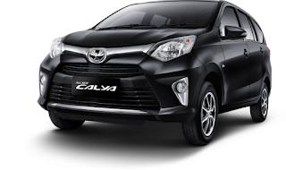 Toyota Calya Warna Black