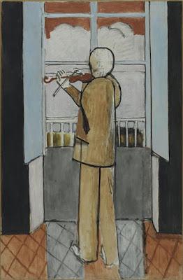 Le violoniste à la fenêtre