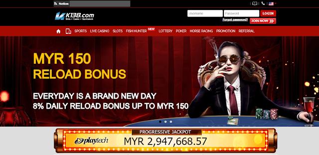 K138.com   值得信赖的马来西亚在线赌场