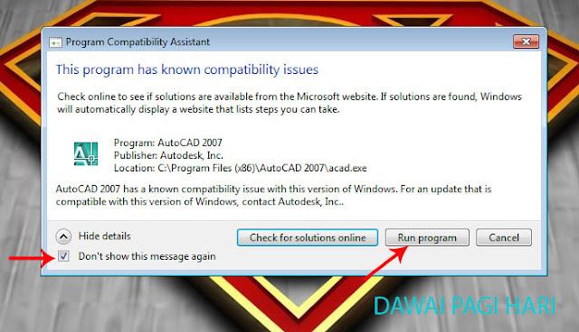 Cara Install AutoCAD 2007 di Windows 7 Lengkap Dengan Petunjuk Gambar