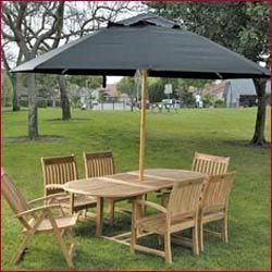 meja makan payung murah