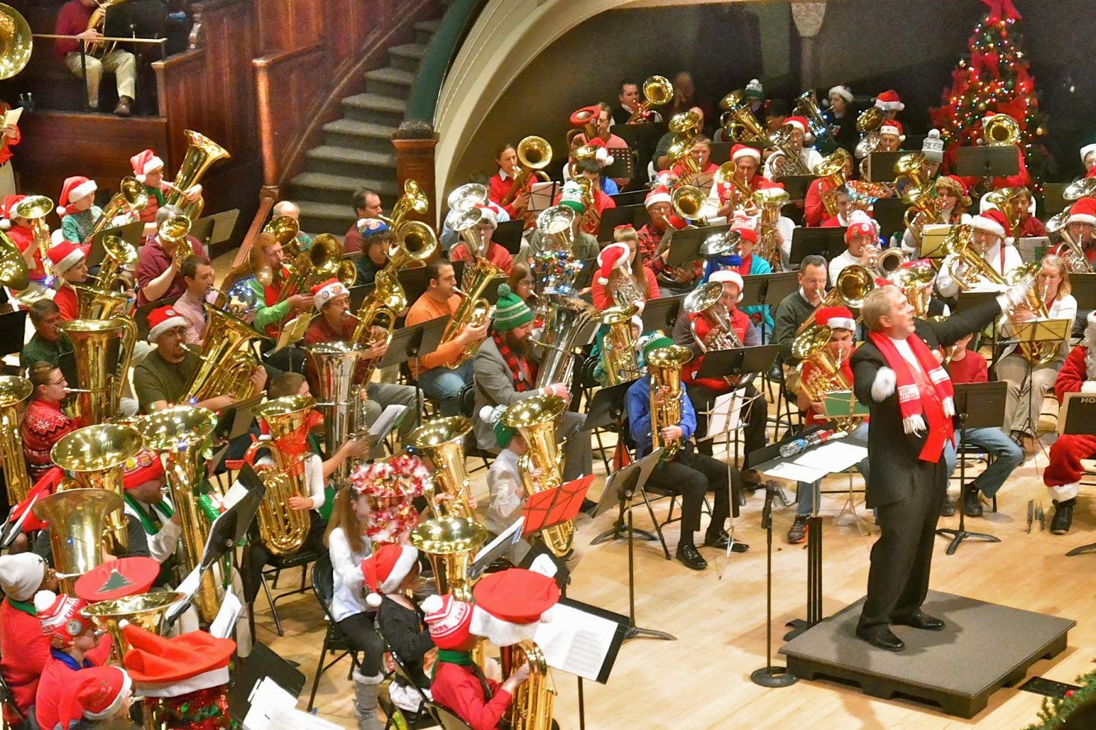 Tuba Christmas.Tom The Backroads Traveller Merry Tuba Christmas