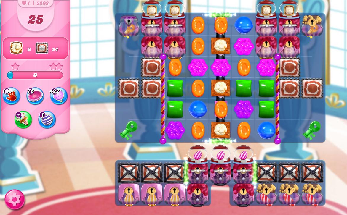 Candy Crush Saga level 5292
