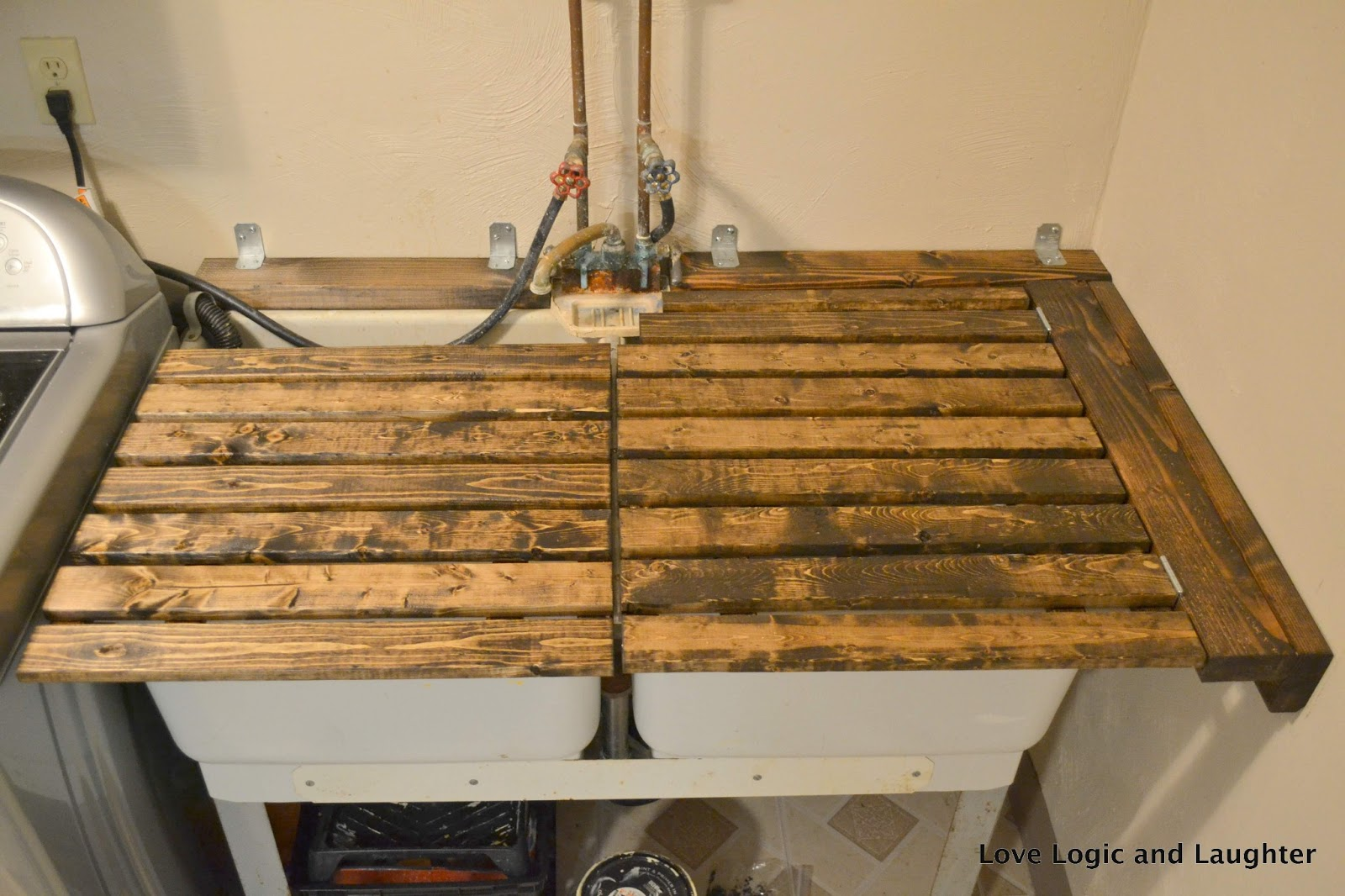Here Is A Slideshow Of Pictures Showing How The Utility Sink Cover Moves From Counter E To Workable