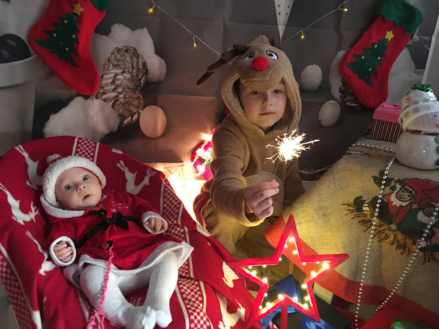 sesja świąteczna dla dzieci