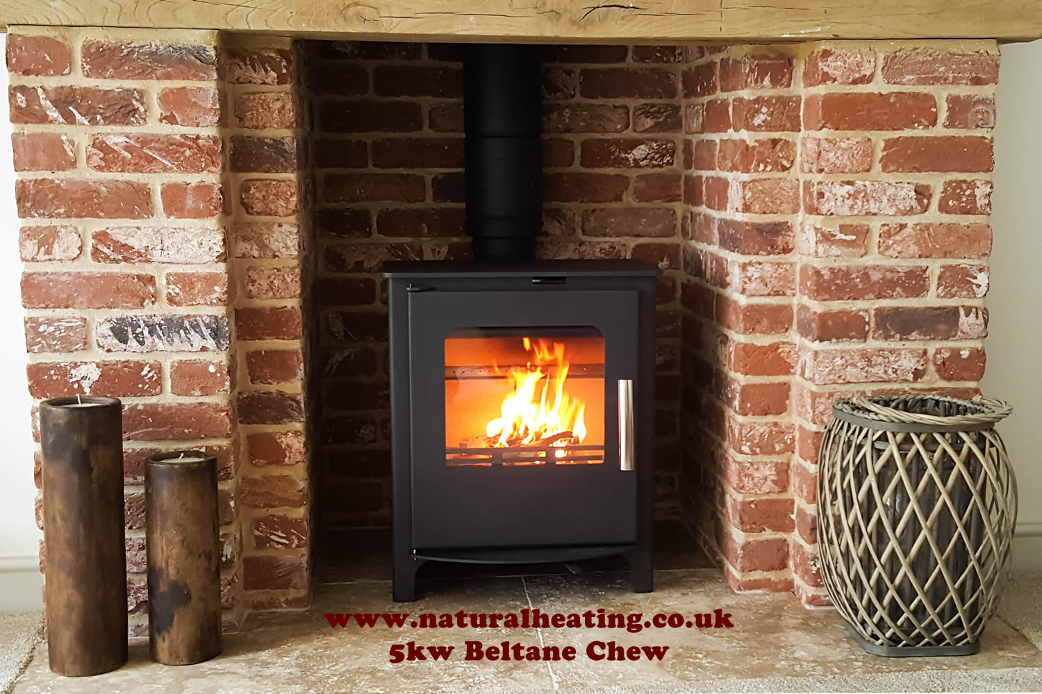 Beltane Chew 5kw Stove - Multi Fuel and Wood burning / Smoke ...
