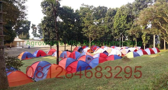 Paket Camp Keluarga daerah Wana Wisata Hambalang Adventure