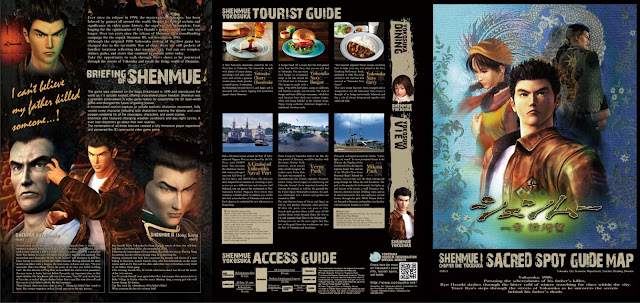 "Shenmue ""Sacred Spot"" Guide Map (1/2)"