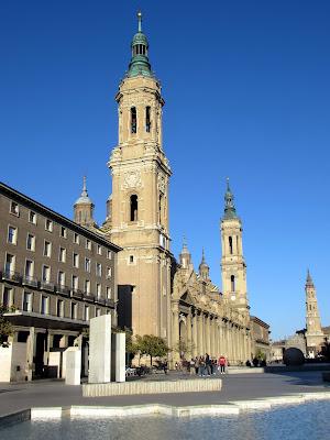 Basílica del Pilar; El Pilar; Zaragoza; Aragón