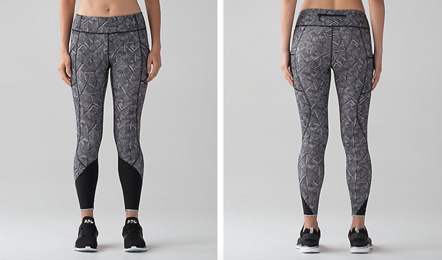 Lululemon Tight Stuff Tight II Formation Alpine