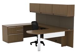 Cherryman Industries Verde Executive Desk Suite
