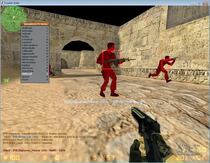 Counter strike 1. 6 | hack aimbot+wallhack (free download) youtube.