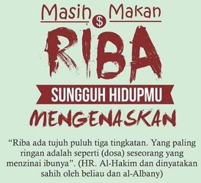 Macam Macam Riba Serta Pengertian Riba Dalam Islam