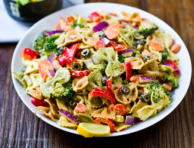 How to Make Bow Tie Pasta Primavera Salad
