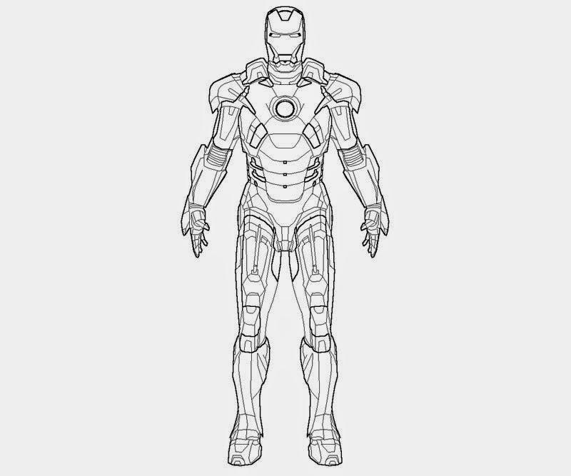 Ausmalbilder zum Ausdrucken Ausmalbilder Iron Man Zum