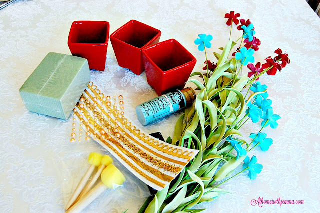 florist-foam-flower-pot-ceramic-red-craft-project-easy-jemma