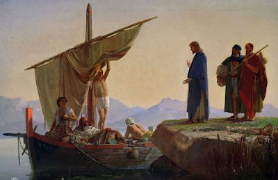 Christ Calling The Apostles James And John