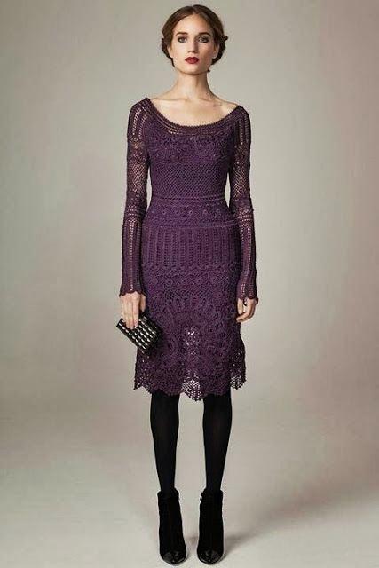 szydelkowa sukienka