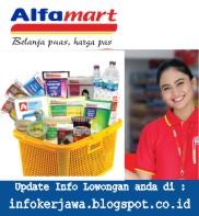 Lowongan Kerja Alfamart (PT Sumber Alfaria Trijaya)