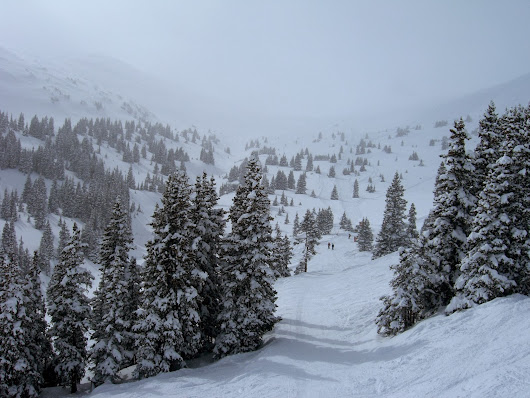 Powder Day at Copper