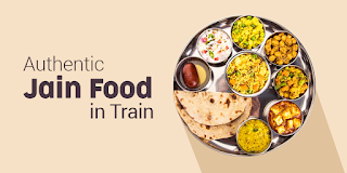 Jain food in train