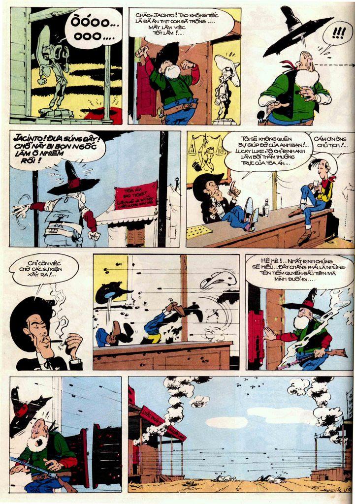 Lucky Luke tập 21 - sợi dây biết hát trang 18