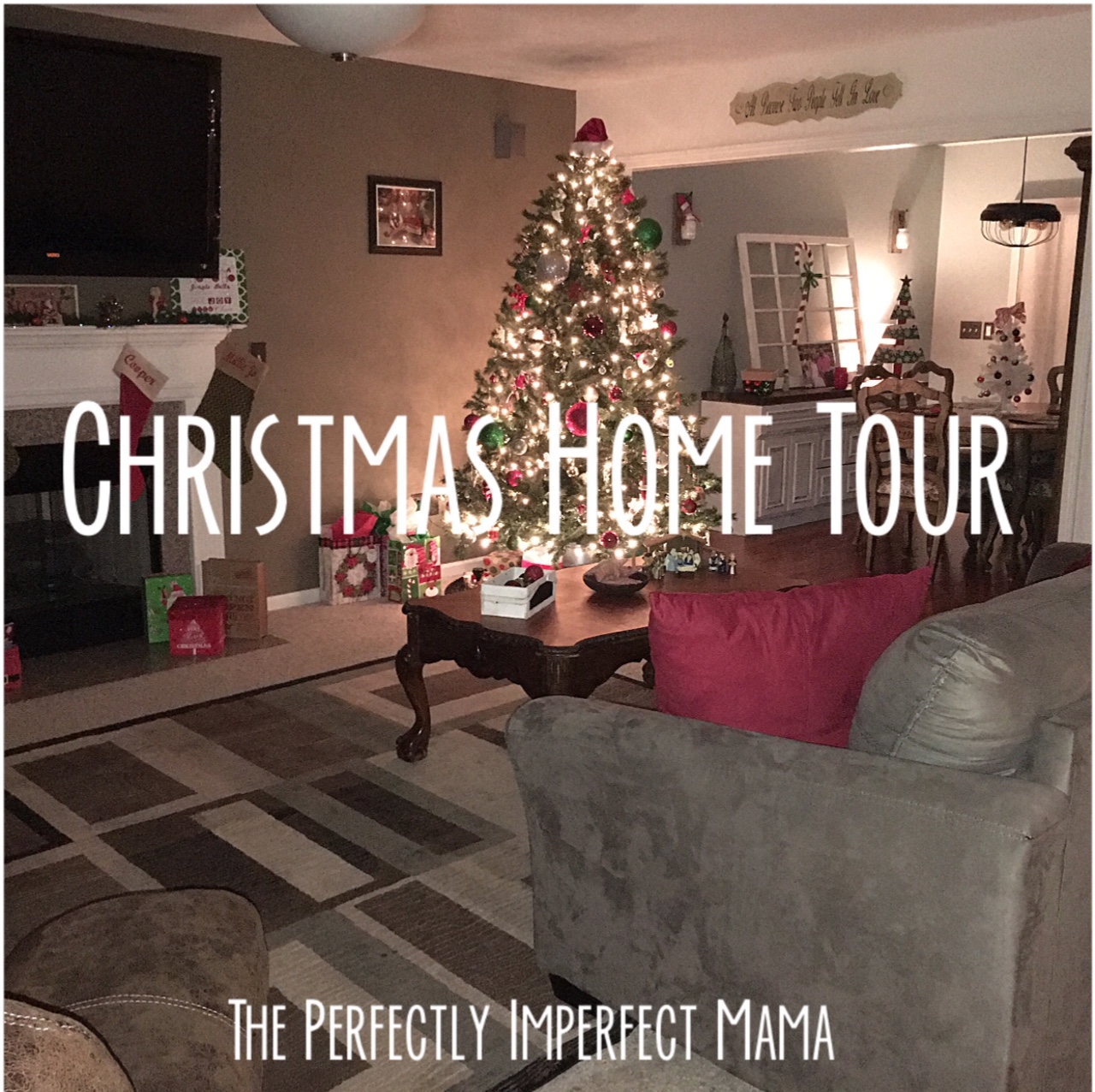Show Tell Tuesday Christmas Home Tour The Perfectly Imperfect