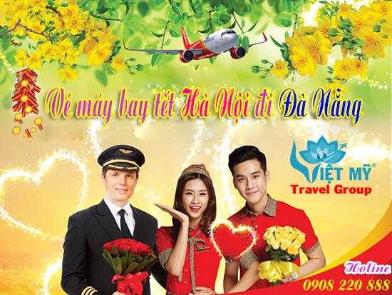 Vé máy bay tết Hà Nội đi Đà Nẵng 2018