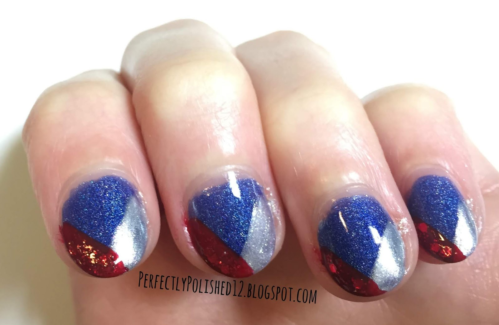 Perfectly Polished 12 4th Of July Nail Art
