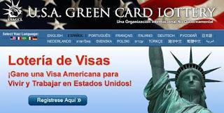 Trump elimina la lotería de visas para la Green Card. Eliminada la lotería de visas para Estados Unidos.