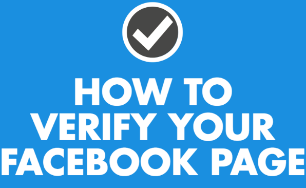 Facebook Page Verification Trick