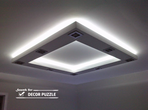 suspended gypsum board ceiling designs, false ceiling images
