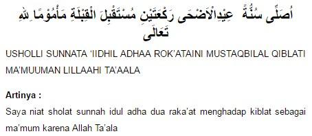 Cara dan Niat Shalat Idul Adha Yang Benar Menurut Islam