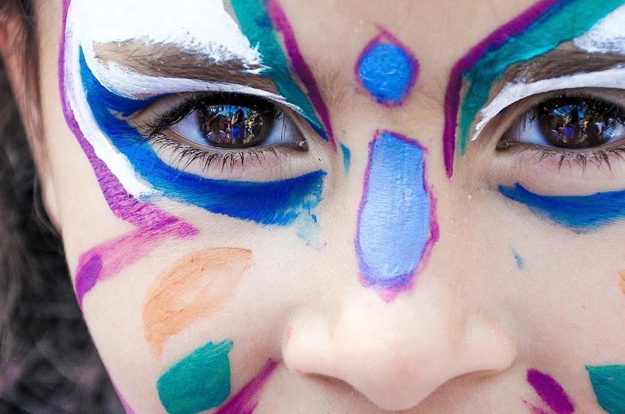 Pintacaras para carnaval