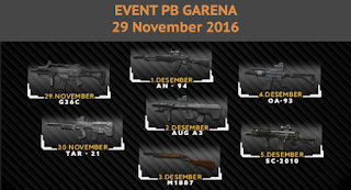 Event PB Garena 29 November 2016 - Light vs Dark