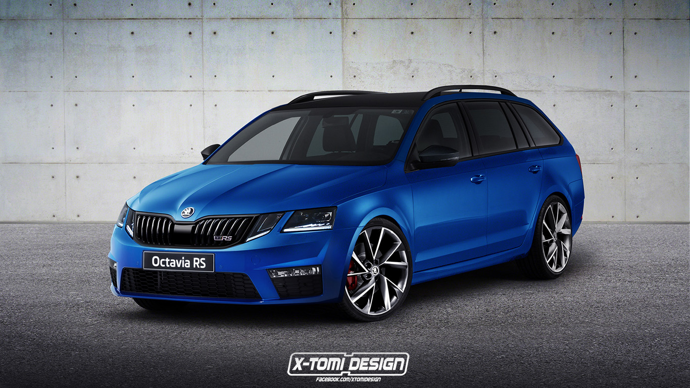 x tomi design skoda octavia rs combi facelift. Black Bedroom Furniture Sets. Home Design Ideas