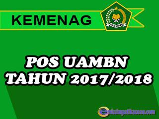 Download POS UAMBN Resmi Tahun Pelajaran 2017/2018