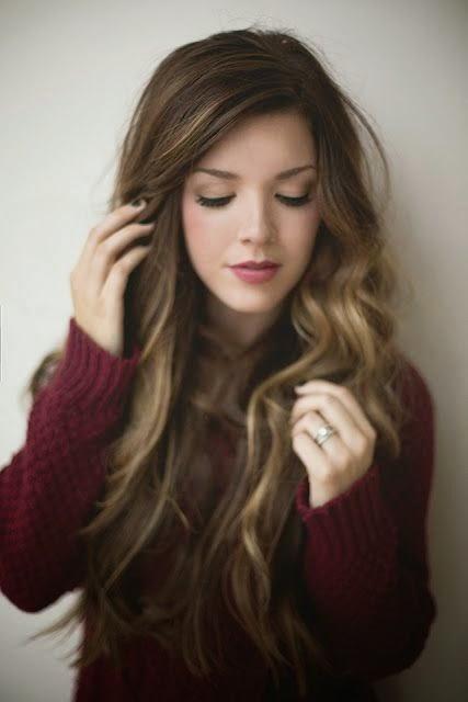 hundaime inilah model dan gaya rambut panjang wanita tren