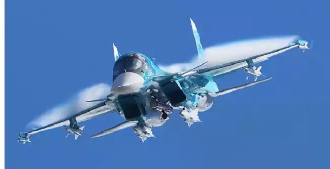 Υπερηχητικές πτήσεις στη στρατόσφαιρα, από το νέο ρωσικό βομβαρδιστικό Su-34