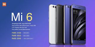 Xiaomi Rilis Mi 6, Smartphone Premium dengan Harga Minimalis