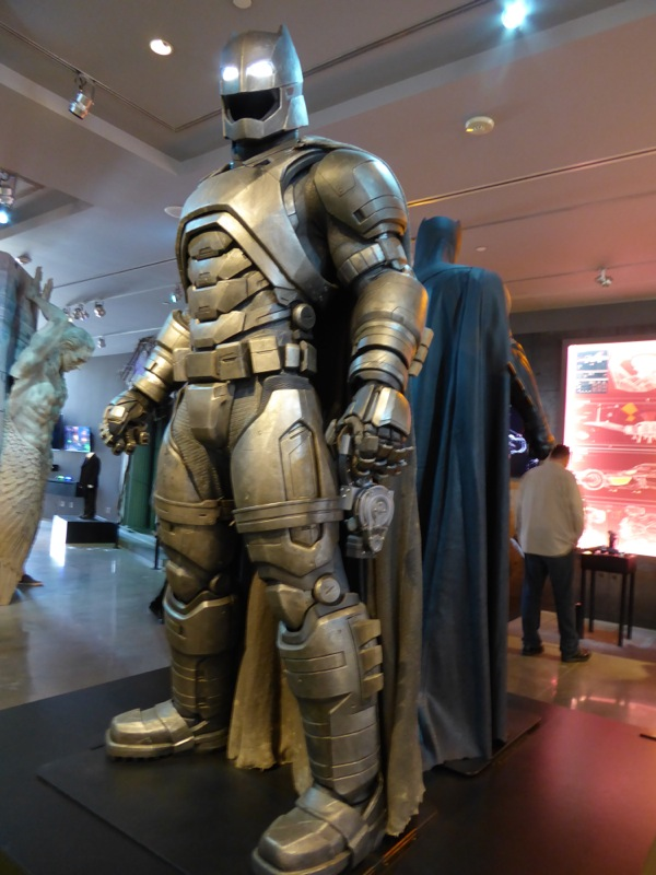 Batman v Superman Batsuits