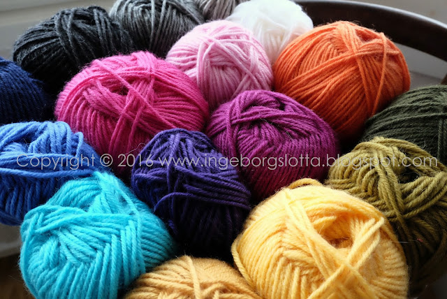 wool yarn Mandala madness CAL 2016 part 1 crochet