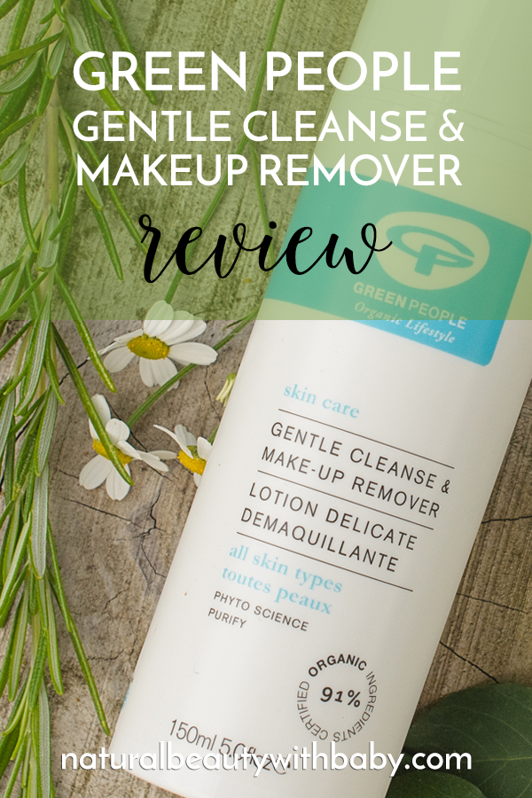 Green People Gentle Cleanse and Makeup Remover is an organic beauty must have! Deep cleanses with comfort and smells beautiful.