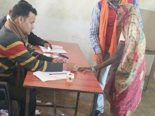 उपचुनावः शहडोल,नेपानगर में 70 फीसदी मतदान