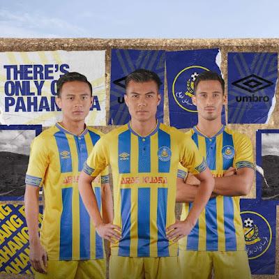 Jersi Rasmi Pahang FA Tajaan Umbro Diperkenalkan