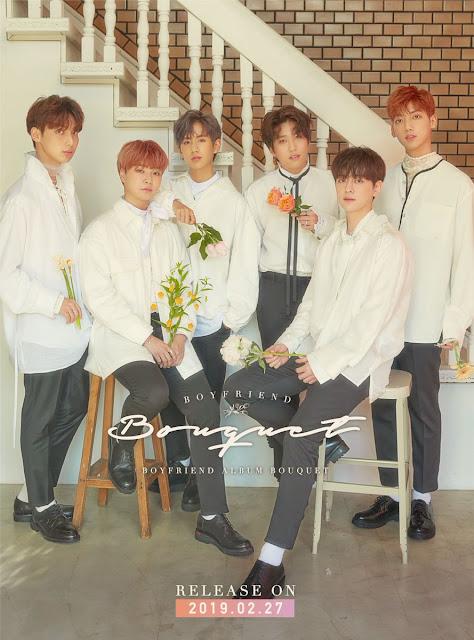 boyfriend japon comeback bouquet album teaser