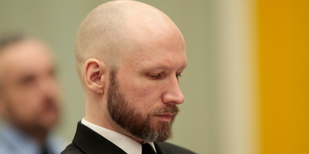 Court: Norway didn't violate rights of mass murderer Anders Behring Breivik
