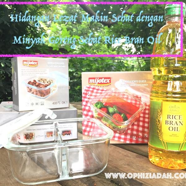 Hidangan Lezat Makin Sehat dengan Minyak Goreng Sehat Rice Bran Oil
