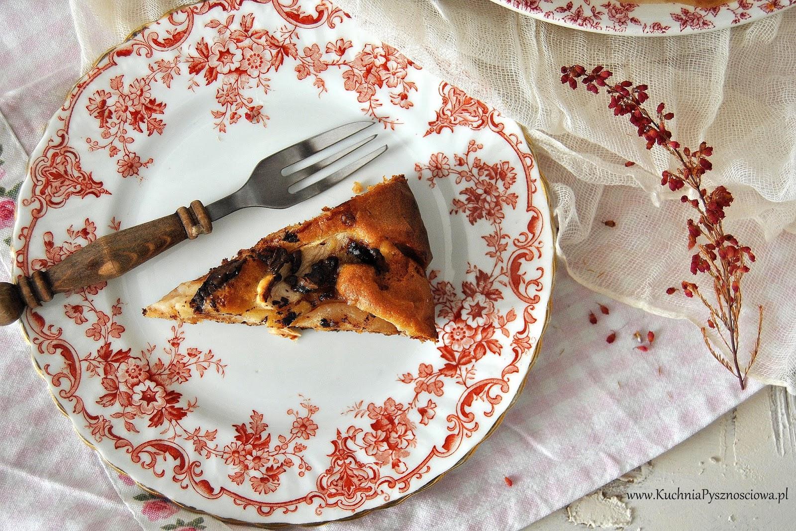 645. Ciasto z jabłkami i masłem orzechowym